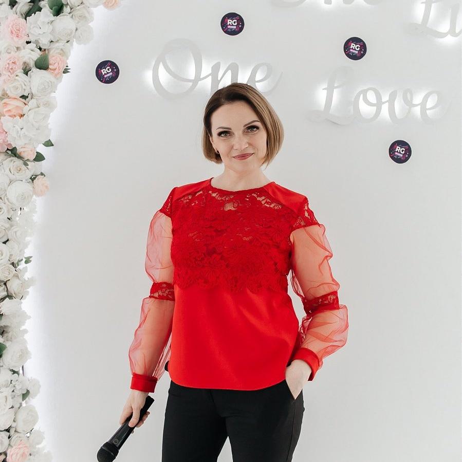 Тамада Ирина на свадьбы и юбилеи в Витебске