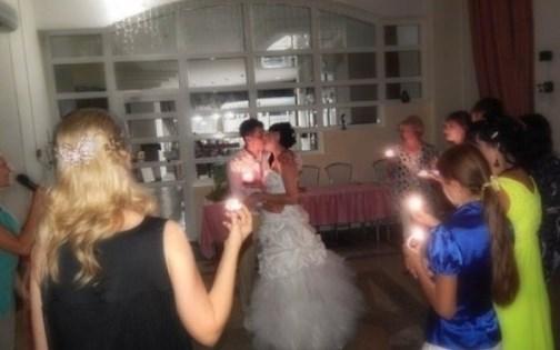 Свадебный банкет с музыкальным оформлением