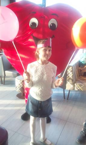 Ростовая кукла Сердце на детский праздник