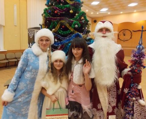 новогодний утренник с Дедом Морозом