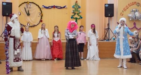 Новогодний детский утренник в Витебске