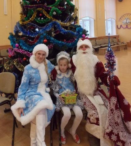 Дед Мороз и Снегурочка на новогодние мероприятия