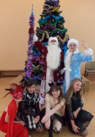 Дед Мороз и Снегурочка поздравляет детей с Новым Годом