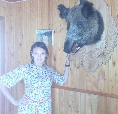 Ведущая Ирина на свадьбе в Лиозно