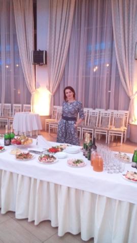 Тамада Ирина на свадьбы в ресторане Северная столица