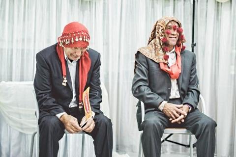 Тамада проводит игру на свадьбе в Витебске