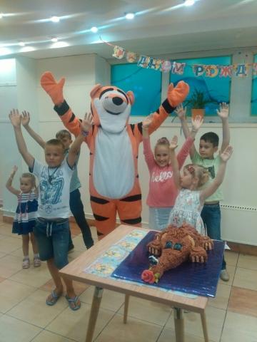 Проведение детских юбилеев в Витебске