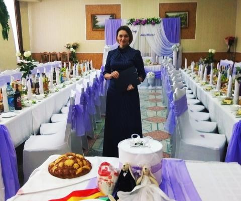 Ведущая на свадьбу в Шумилино
