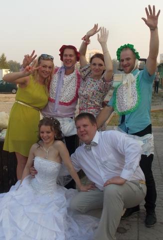 Свадьба с выездной регистрацией в Витебске