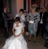 На свадьбе снимают фату
